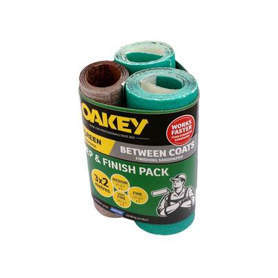 Oakey Prep & Finish Pack 3 x 2m Assorted