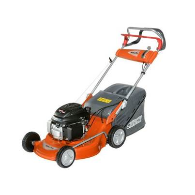 OleoMac G48TH Self Propelled Steel Deck Lawnmower 46cm Petrol 4 Stroke