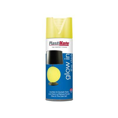 Plasti-kote Glow In The Dark Spray Paint 400ml