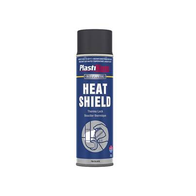 Plasti-kote Industrial Heatshield Spray Black 500ml