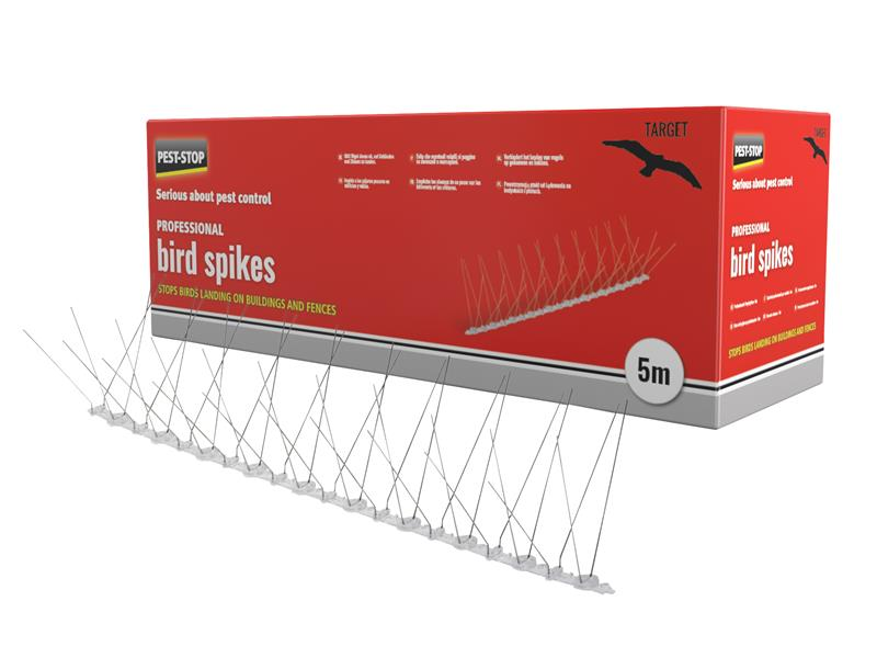 Professional Bird Spikes 10 x 500mm Metal Strips