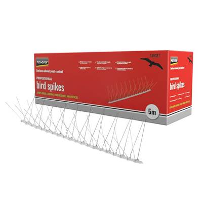 Pest-Stop Systems Professional Bird Spikes 10 x 500mm Metal Strips