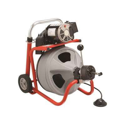 RIDGID K-400 AUTOFEED® Drum Machine with C-32IW (Integral Wound) Solid Core Cable 28098