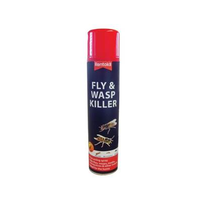 Rentokil Fly & Wasp Killer Aerosol 300ml