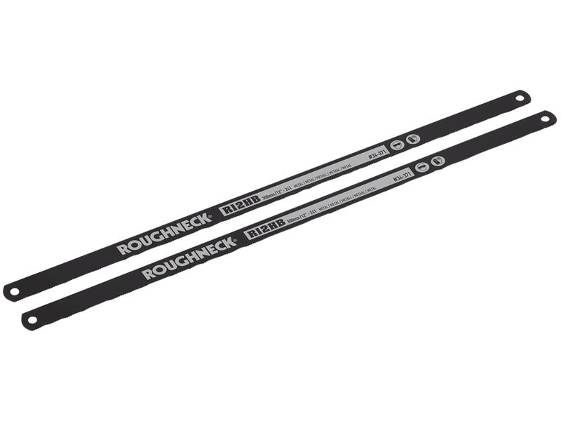 Hacksaw Blades 300mm (12in) x 24tpi Pack 2