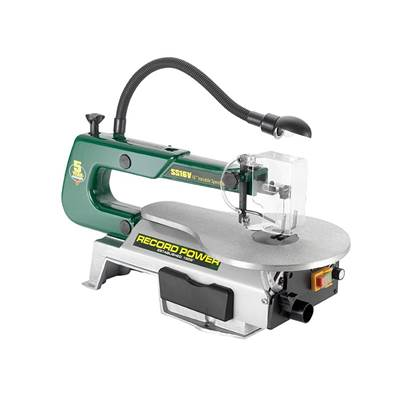 Record Power SS16V Scroll Saw 400mm 90W 240V
