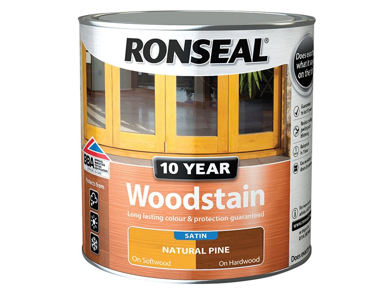10 Year Woodstain