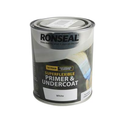 Ronseal Super Flexible Wood Primer & Undercoat 750ml