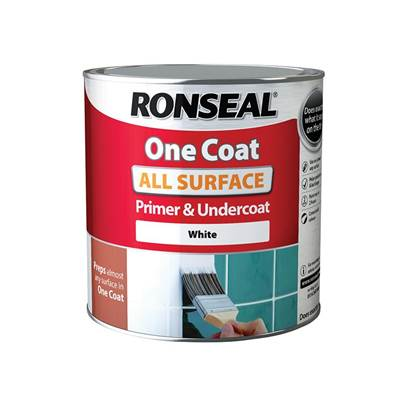 Ronseal One Coat All Surface Primer & Undercoat Interior