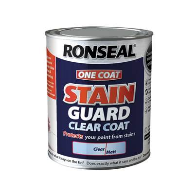 Ronseal Stain Guard Clear Coat Matt
