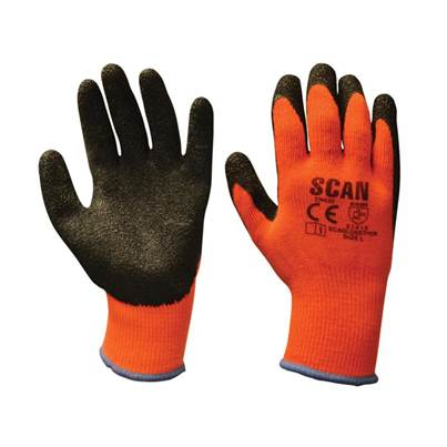 Scan Thermal Latex Coated Gloves