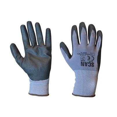 Scan Breathable Microfoam Nitrile Gloves