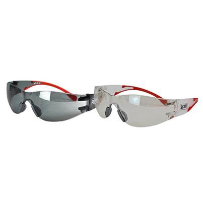 Scan Flexi-Spec Safety Glasses Twin Pack