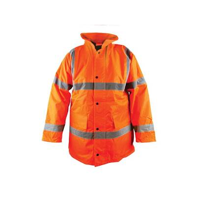 Scan Hi-Vis Orange Motorway Jacket
