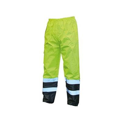 Scan Hi-Vis Yellow/Black Motorway Trousers