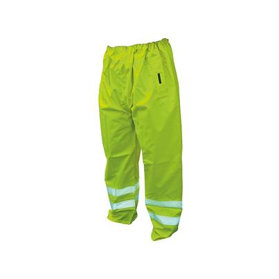 Scan Hi-Vis Yellow Motorway Trousers