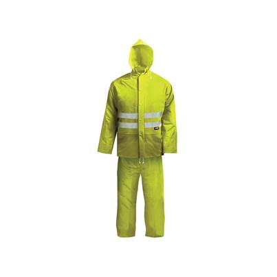 Scan Hi-Vis Yellow Rain Suit