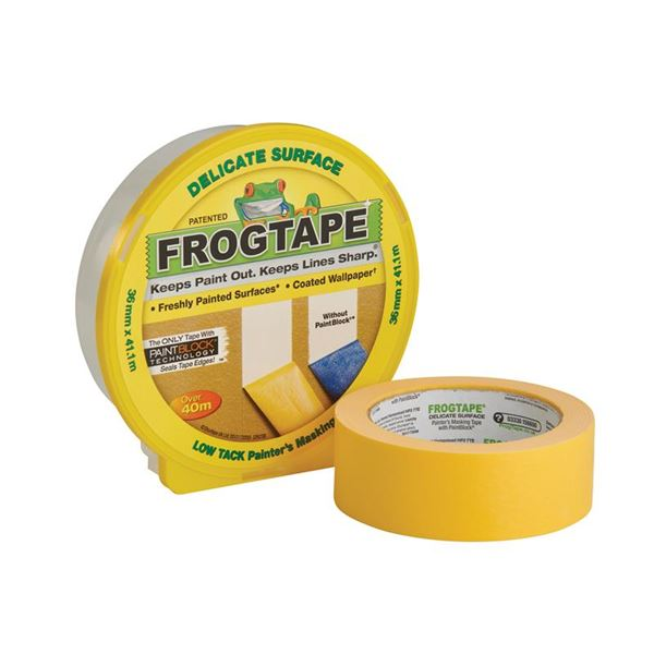 Image of Frogtape Yellow Masking Tape (L)41.1m (W)24mm