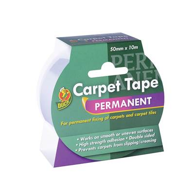 Shurtape Duck Tape®Permanent Carpet Tape 50mm x 10m