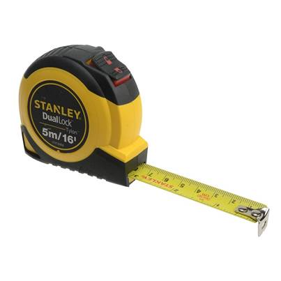 Stanley Tools DualLock™ Tylon™ Pocket Tape