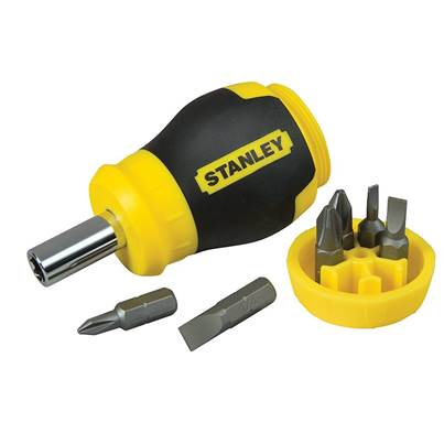 Stanley Tools Stubby Screwdriver - Non Ratchet
