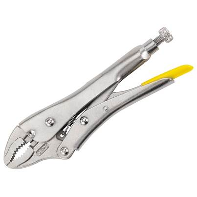 Stanley Tools Curved Jaw Locking Pliers