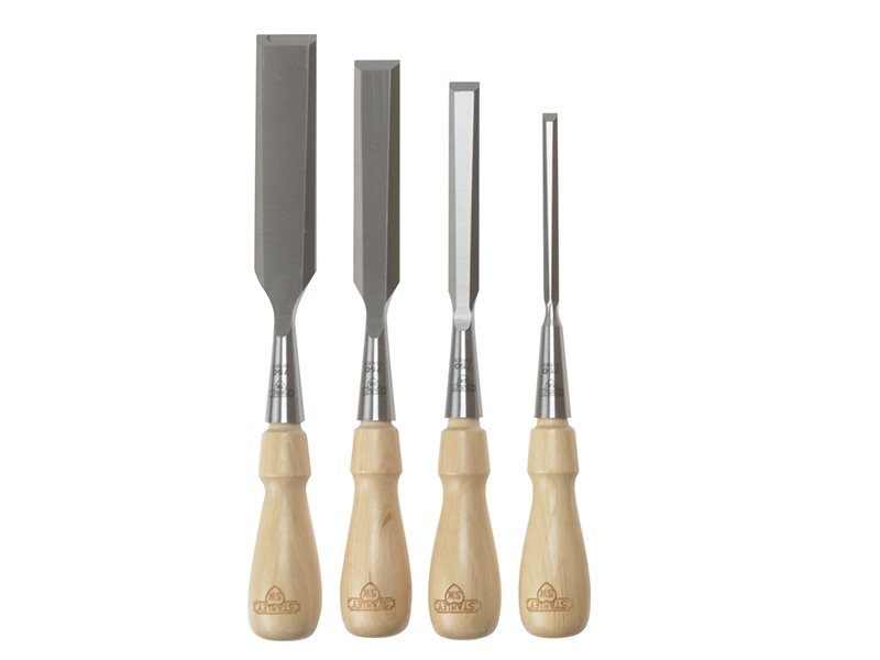 Sweetheart Socket Chisel Set of 4: 6 12 18 & 25mm