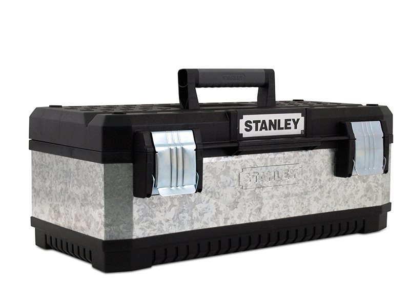 Galvanised Metal Toolbox