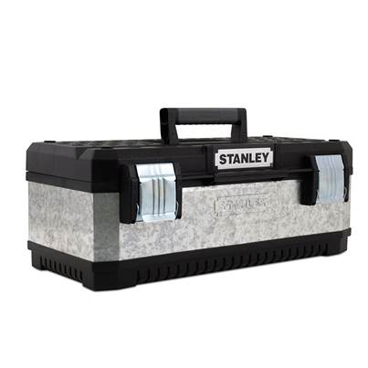 Stanley Tools Galvanised Metal Toolbox