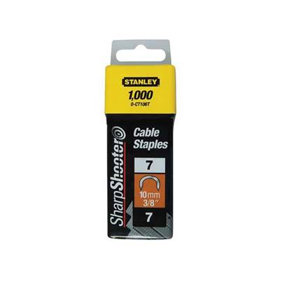 Stanley Tools Type 7 Cable Staples