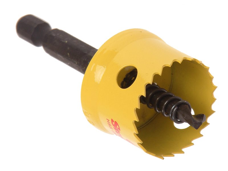 Smooth Cutting Holesaw for Cordless Drills