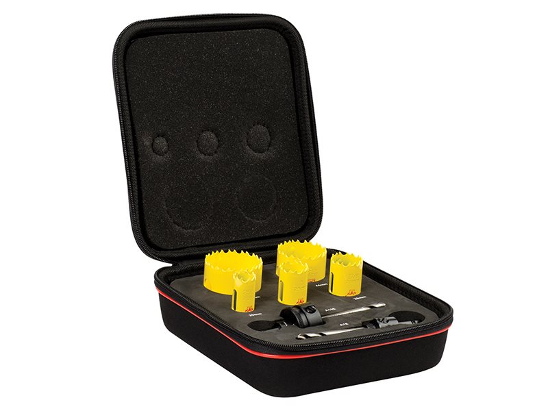 KDC05021 Deep Cut Bi-Metal Electrician's Holesaw Kit 7 Piece