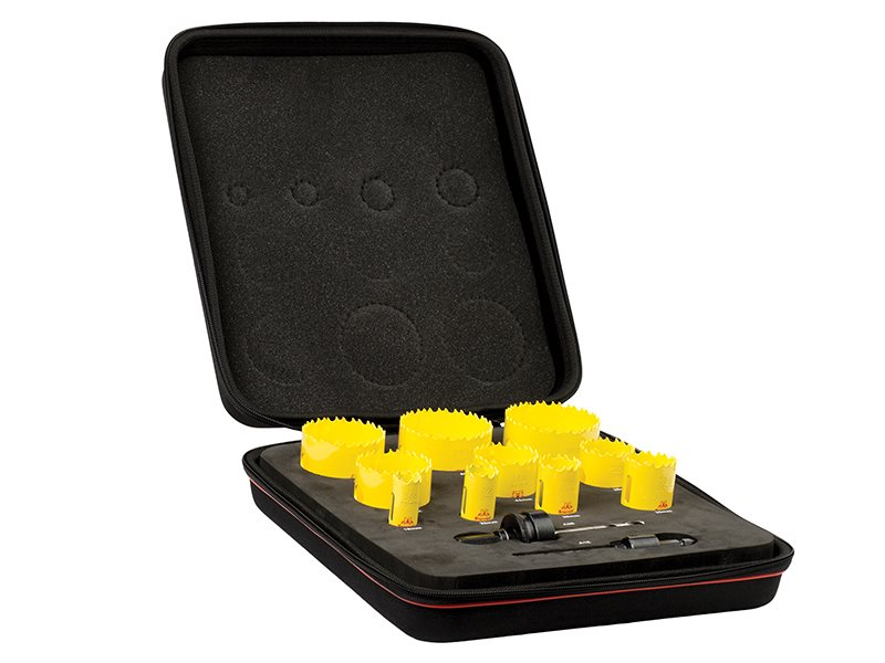 KDC10022 Deep Cut Bi-Metal Deluxe Plumber's Holesaw Kit 12 Piece