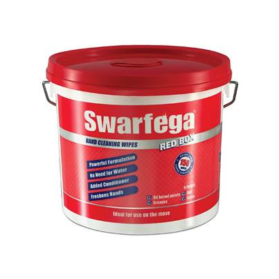 Swarfega Red Box® Heavy-Duty Trade Hand Wipes (Tub 150)