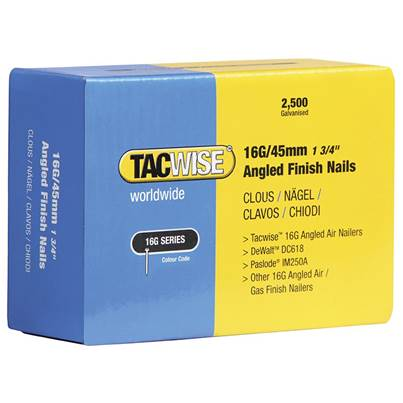Tacwise 16 Gauge Angled Nails