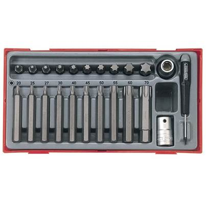 Teng TTTX23 23 Piece TX Bit Socket Set