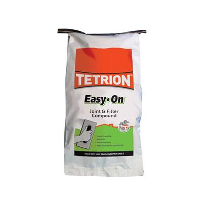 Tetrion Fillers Easy On Filling & Jointing Compound Sack 5kg