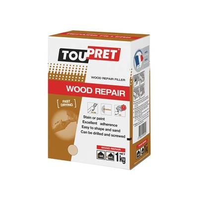 Toupret Fast Drying Wood Repair 1kg