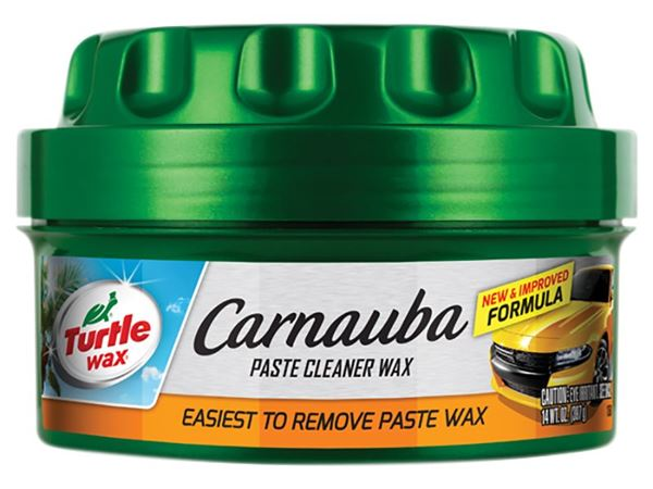Turtle Wax Carnauba Paste Cleaner Wax, New Formula