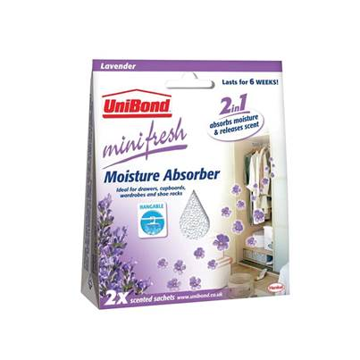 Unibond Mini Fresh Moisture Absorber Sachet (Pack 2)
