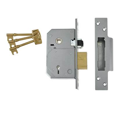 UNION BS 5 Lever Mortice Rollerbolt Sashlock