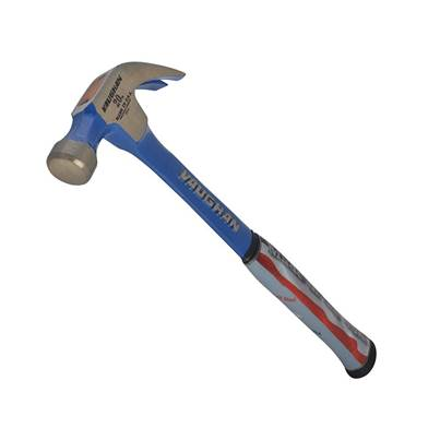 Vaughan Curved Claw Hammer, Solid Steel
