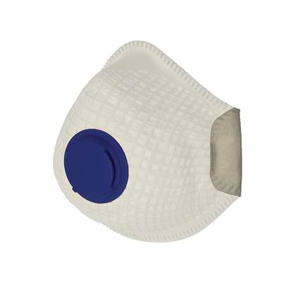 Vitrex VCM205 Disposable Moulded Valve Mask P2 Pack of 2