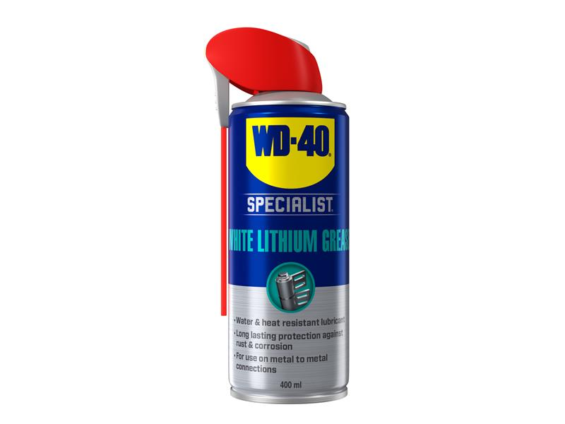 WD-40® Specialist White Lithium Grease Aerosol 400ml