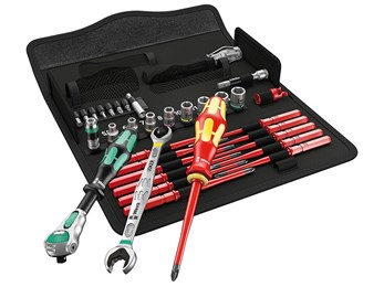 Wera Kraftform Kompakt W1 Maintenance Set, 35 Piece