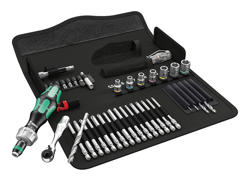Kraftform Kompakt H1 Wood Tool Set, 41 Piece