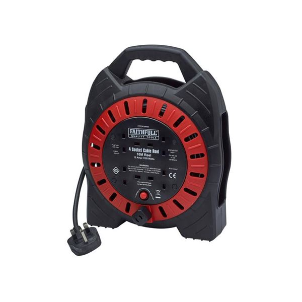 Photo of Xms faithfull power plus cable reel 10m 13a
