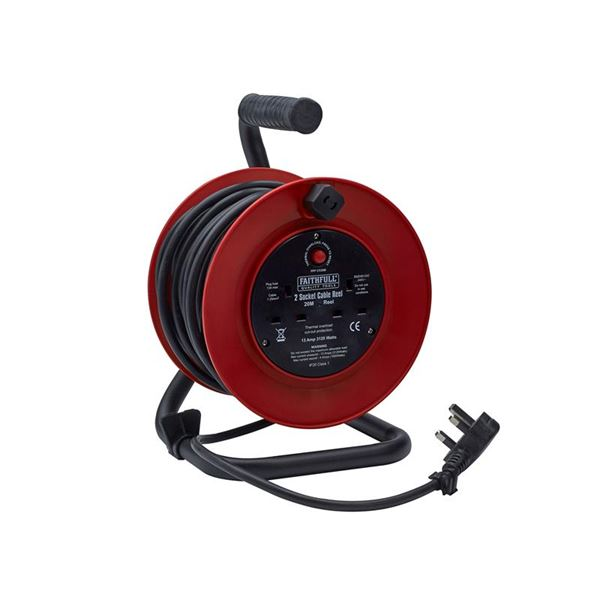 Photo of Xms faithfull power plus cable reel 20m 13a