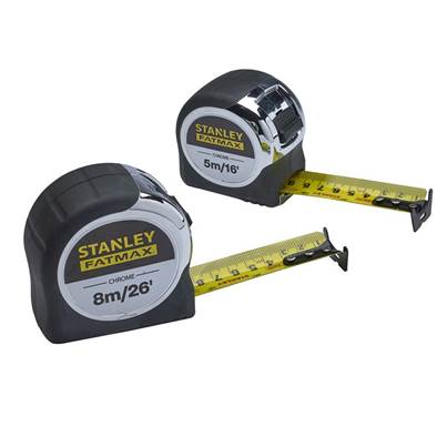 XMS Stanley FatMax® Chrome Tape (Twin Pack)