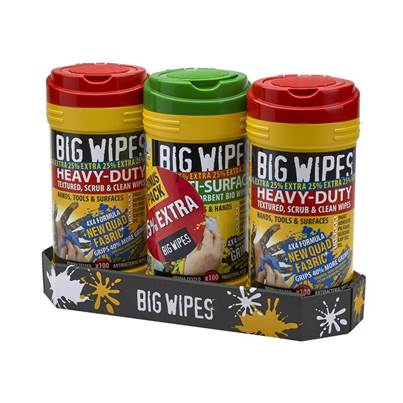 XMS Big Wipes (Triple Pack + 25% Extra Free)